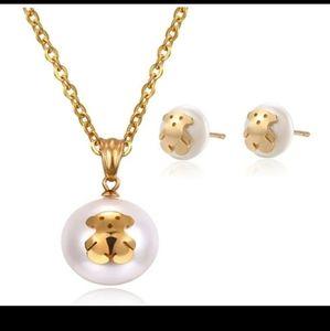Tous Jewelry Set - Big Pearl